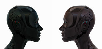 Two rubber woman Royalty Free Stock Images