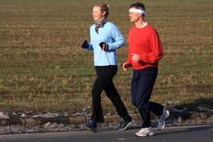 Two runner Stock Photos