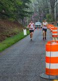 Two Runners Competing in the 2019 Blue Ridge Marathon