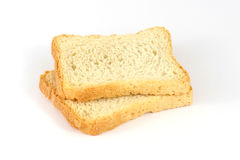 Two rusks Royalty Free Stock Photography