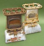Rusty antique stoves Royalty Free Stock Photo