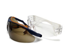 Two safety glasses. Stock Images