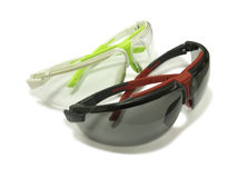 Two safety glasses. Royalty Free Stock Image