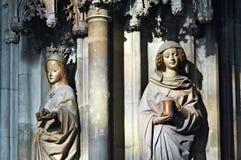 Two saints Royalty Free Stock Photo