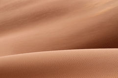 Two sand dunes. Foreground one lower then other royalty free stock image