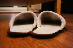 Two sandals Royalty Free Stock Images