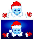 Two Santa Royalty Free Stock Images
