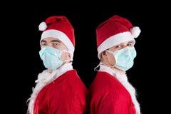 Two santa claus Stock Image