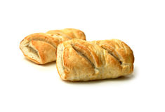 Two Sausage Rolls Stock Image