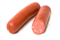 Two sausages Royalty Free Stock Images