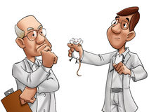 Two scientists Stock Image