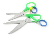 Two scissors Stock Photo