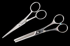 Two scissors Royalty Free Stock Photography