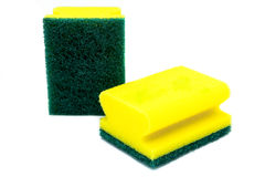Two scourer Stock Images