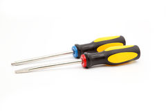Two screwdrivers Stock Images