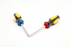 Two screwdrivers Royalty Free Stock Photography