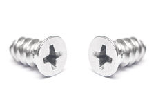 Two screws Stock Photography