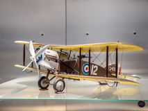 Two seater British Bristol F2B Fighter stock photography