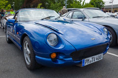 A two-seater convertible sports car TVR Chimaera Royalty Free Stock Photos