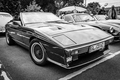 A two-seater convertible sports car TVR 350i. Royalty Free Stock Images