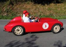Two-seater histórico auto Foto de archivo libre de regalías