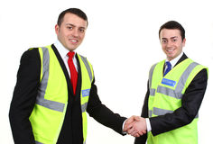 Two security men Royalty Free Stock Photography