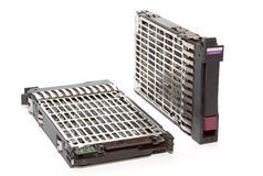 Two  server hard disk Royalty Free Stock Image