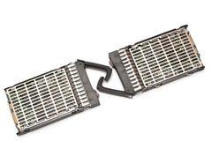 Two  server hard disk Stock Photos