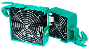 Two server's fans Royalty Free Stock Photography