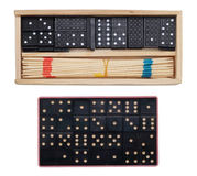 Two sets for domino Stock Image