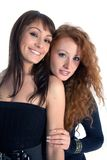 Two sexual beauty Royalty Free Stock Photo