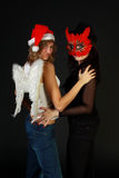 Two sexual girls Royalty Free Stock Photo