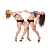 Two sexy girls Royalty Free Stock Photo