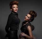 Two sexy girls Stock Photos