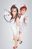 Two nurses Stock Image