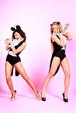 Dancing girls Stock Photos