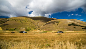 Two shacks in the middle of nowhere Royalty Free Stock Image