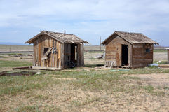 Two Shacks Royalty Free Stock Photo