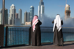 Two sheikhs Stock Photos