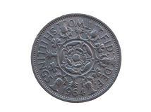 Two shillings coin Royalty Free Stock Photo