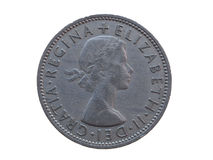 Two shillings coin Stock Image