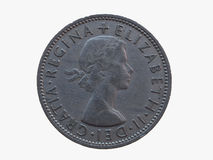 Two shillings coin Royalty Free Stock Photography