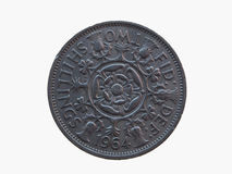 Two shillings coin Stock Images
