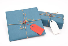 Two shipping package Stock Photography