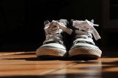 Two shoes Royalty Free Stock Images