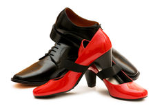 Two shoes isolated Royalty Free Stock Image