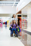 Two shoppers Royalty Free Stock Photos