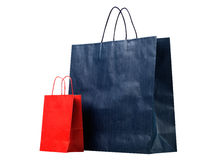 Two shopping bags. Stock Photos