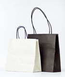 Two shopping bags. Stock Photo