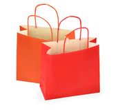 Two shopping bags Royalty Free Stock Photo